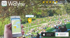 WAYme partage de positions entre amis ! the best Sharing position app