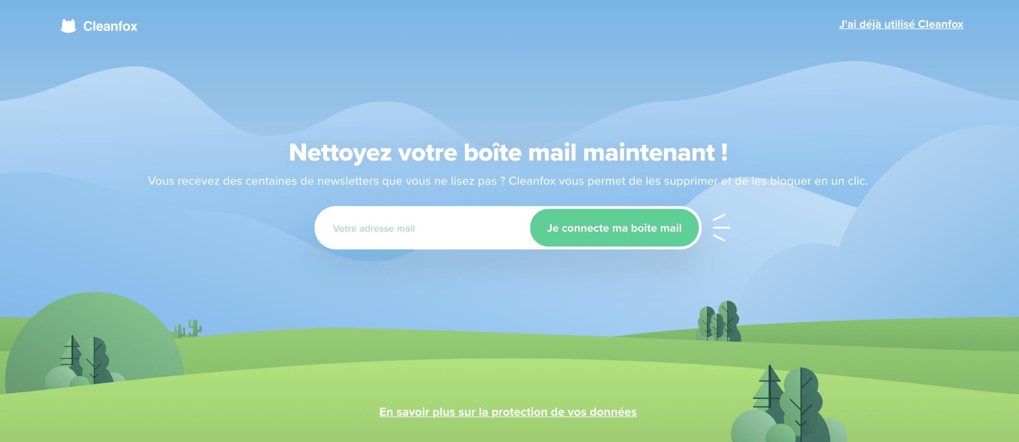 nettoyer sa boite mail