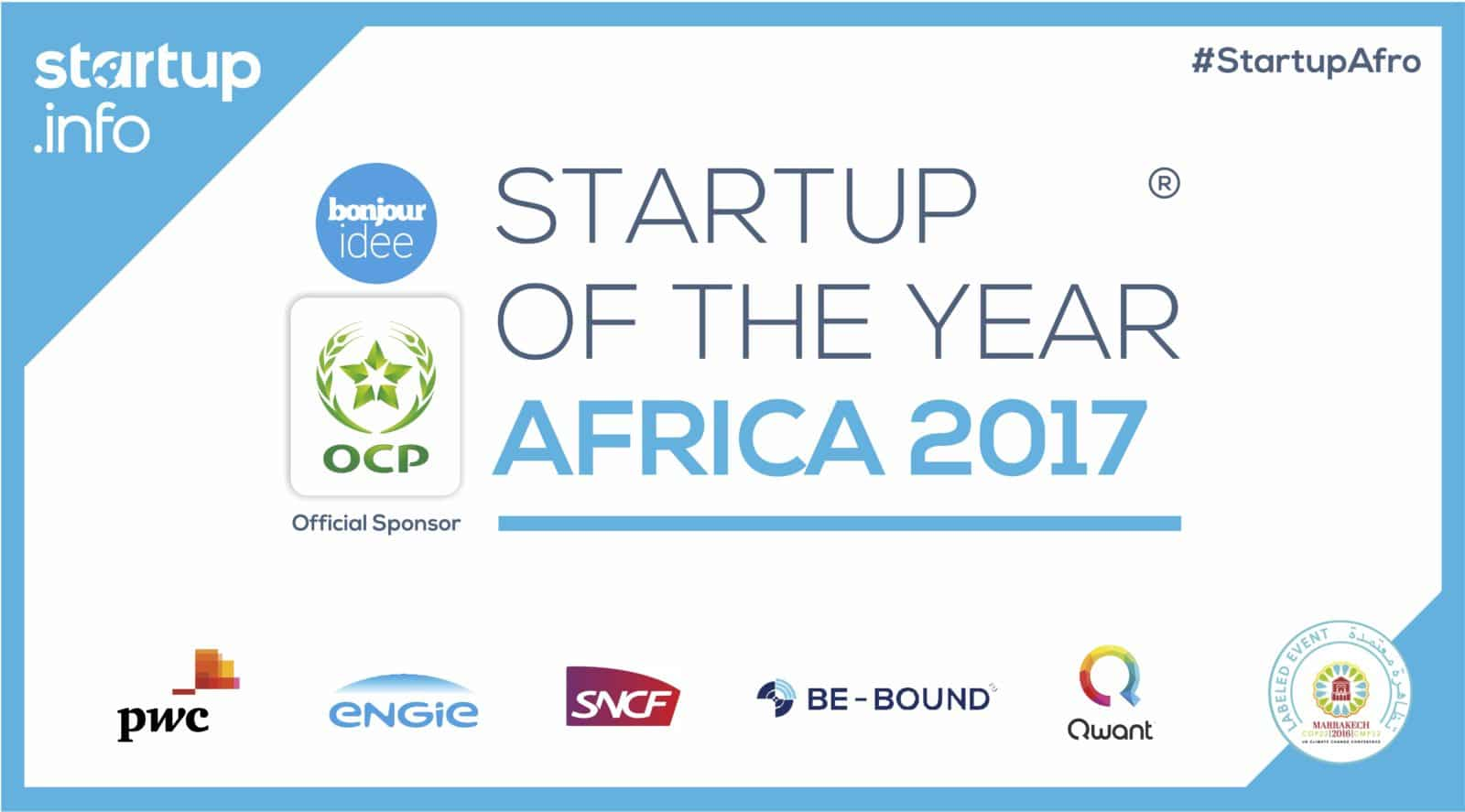 banner startup of the year africa