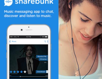 Sharebunk, a Social Music Streaming App