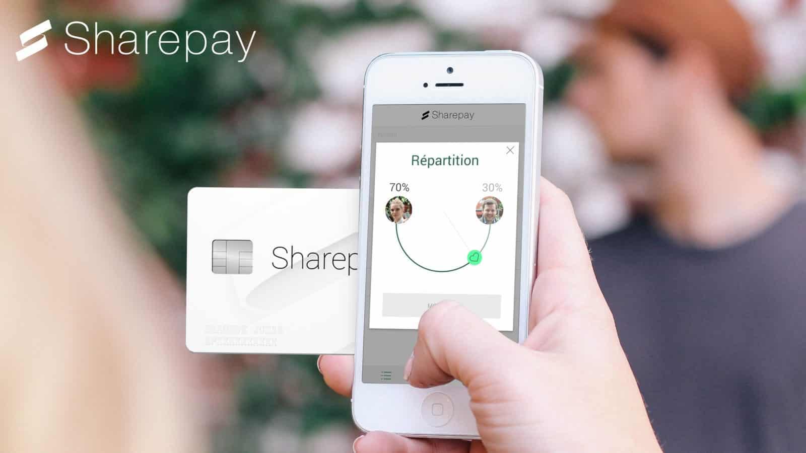 Sharepay phone card 70 30