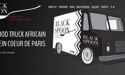 BlackSpoon le premier food truck africain a Paris