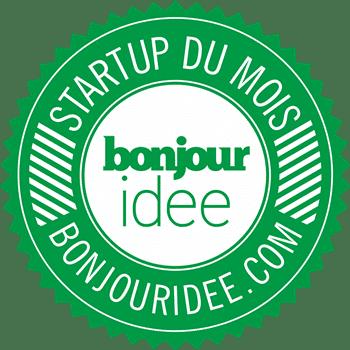 badge startup du mois bonjouridee 350