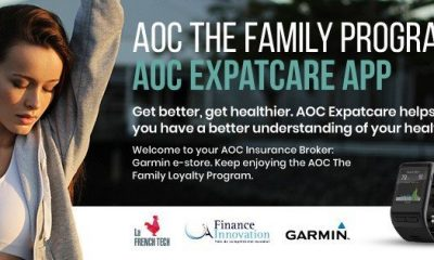 AOC expatcare app banner by AOC Insurance Broker