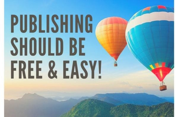 PUBLISHING SHOULD BE FREE EASY e1513404357813