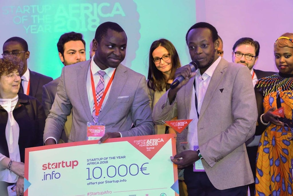 6 remise de prix Startup Of The Year Africa 1