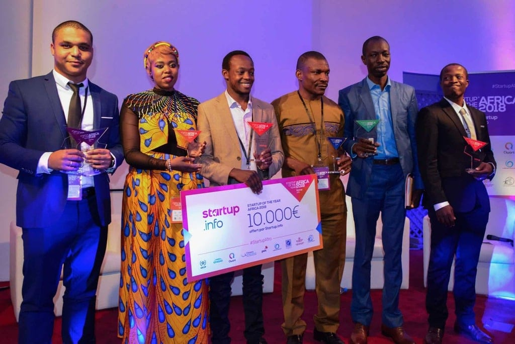 8 remise de prix Startup Of The Year Africa 2