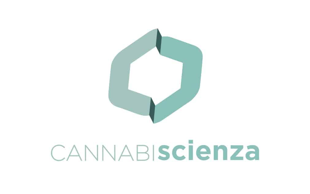 Logo Cannabiscienza Verticale Trasparente
