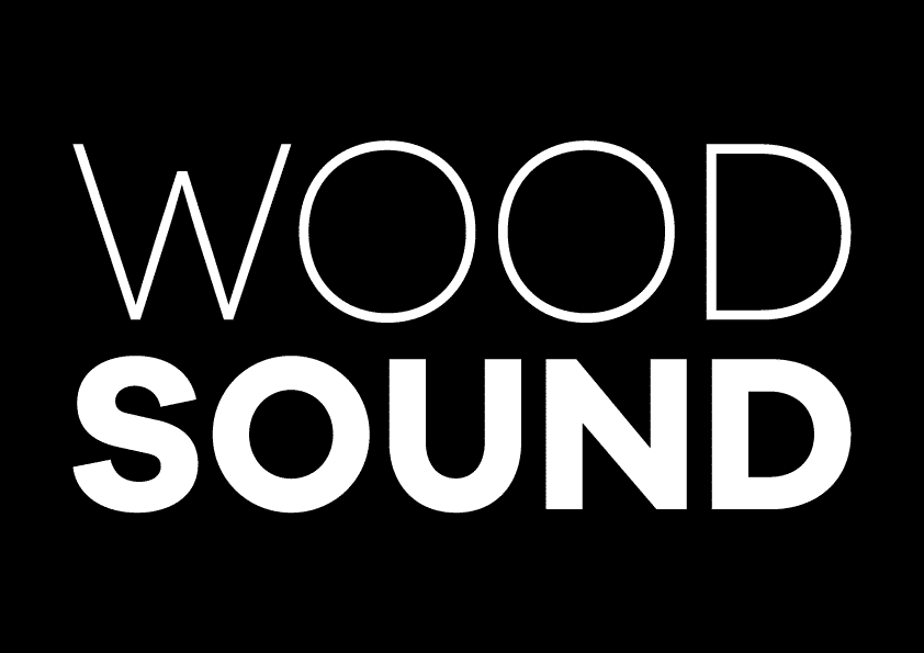 WoodSound logo negativo ORIGINALE