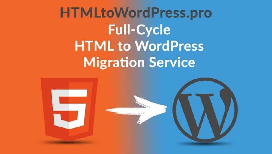 html to wordpress pro