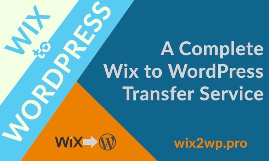 wix to wp pro