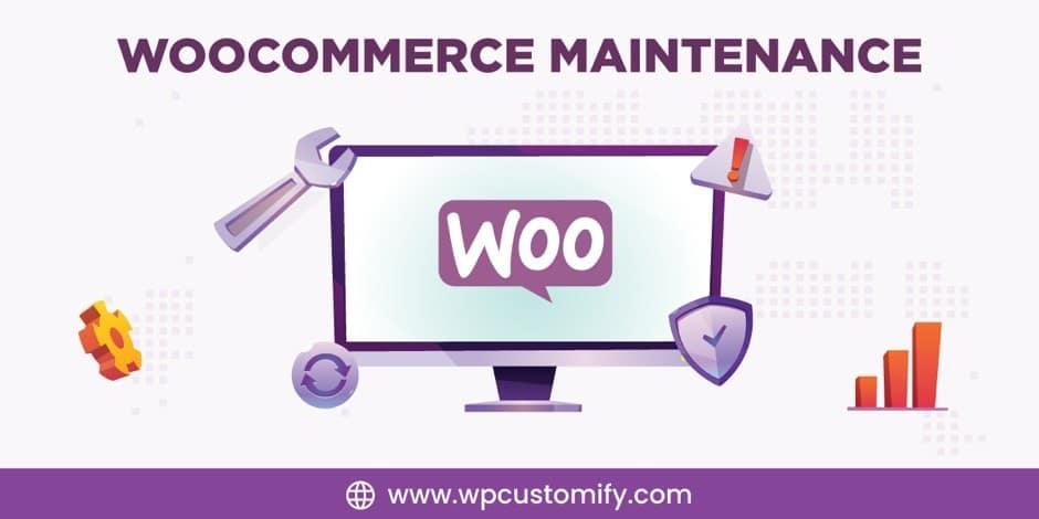 woocommerce maintenance