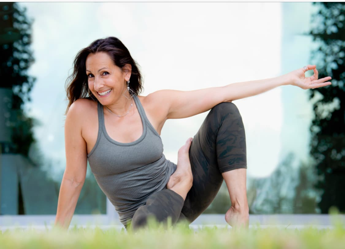 Leslie Glickman Yoga Journey