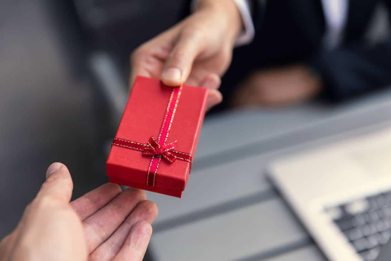 Cadeau d'entreprise
