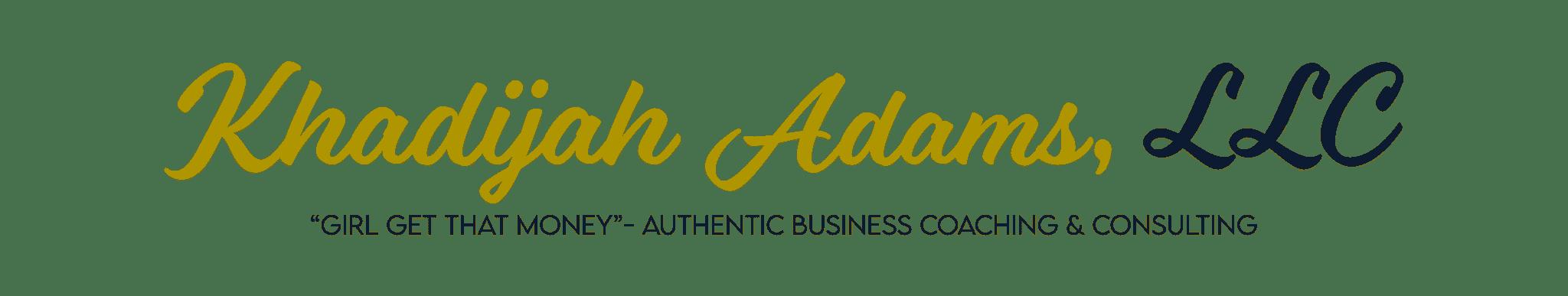 Khadijah Adams Logo