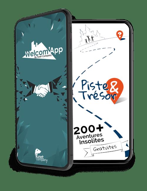FuretCompany Applications WelcomApp Piste et Tresor 2020