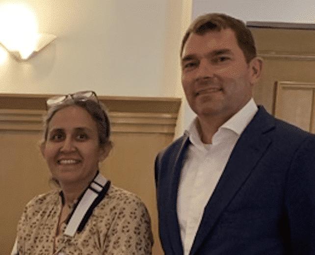 Sophia Hasnain and Matthias Eckert Linked Things