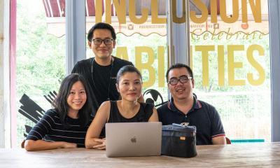 Victor Chua, Jorena Tan, & Ee-lin Chua Fairmarch
