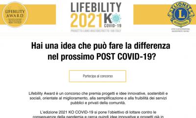 lifebility un concorso per superare la pandemia