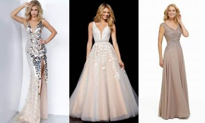 Breathtaking Nude Prom Dresses Trends