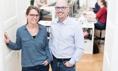 Christian Haintz and Karin, CARTOT & COMPANY