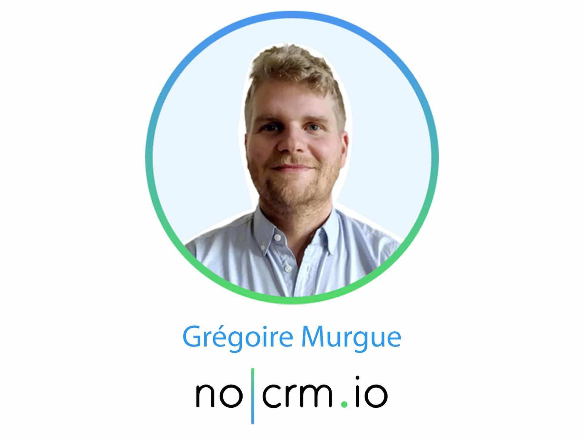 Gregoire Murgue noCRM