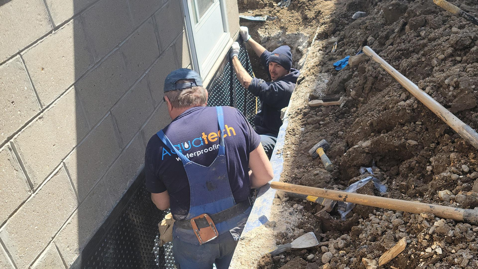 What causes the need for basement waterproofing