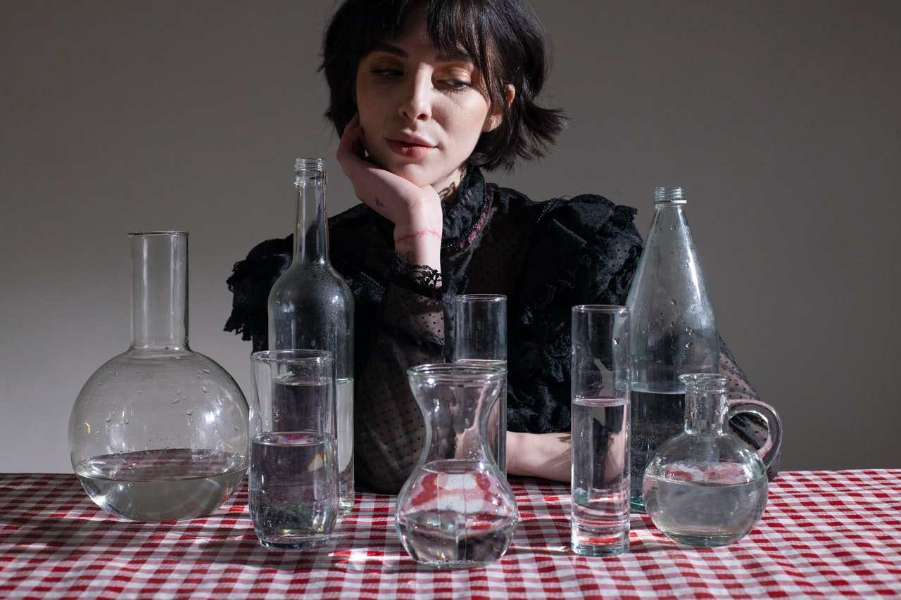 screen printing on glass bottles