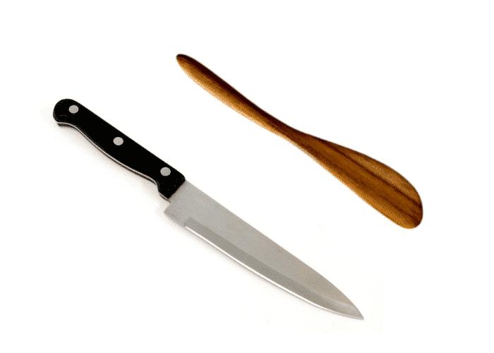 Spreader Knife and Kitchen Knife