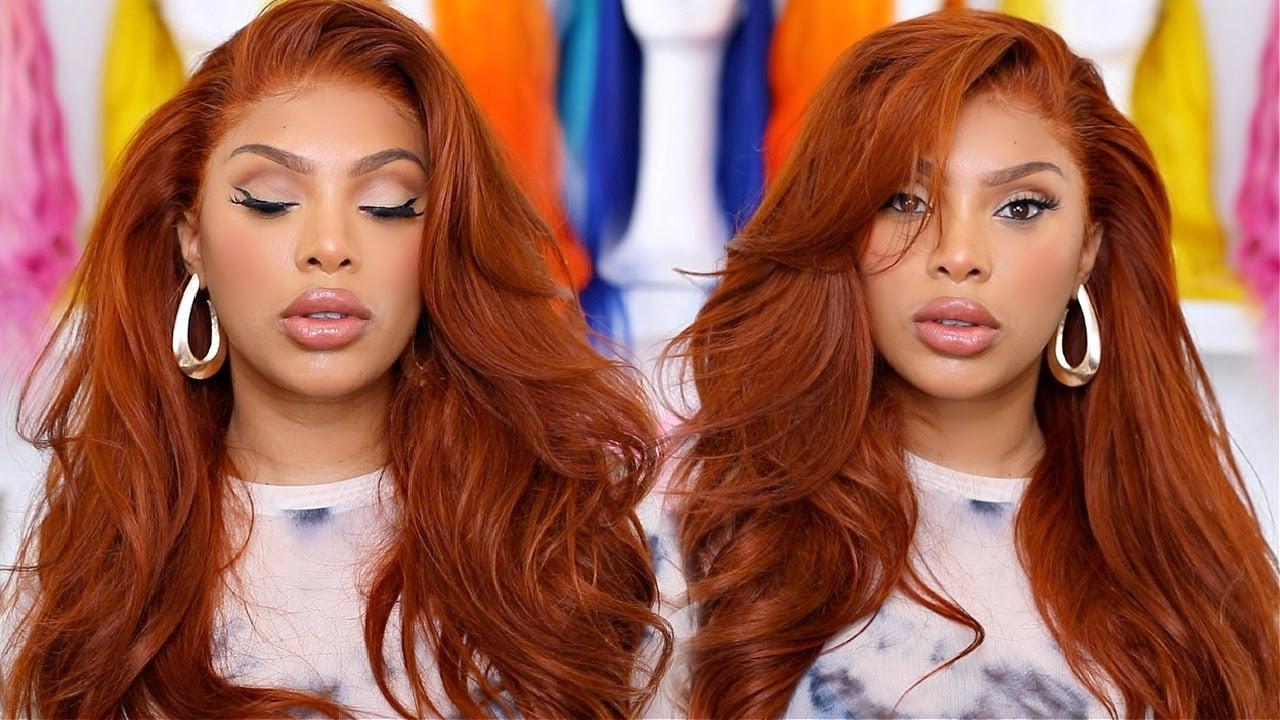 ginger hair wig