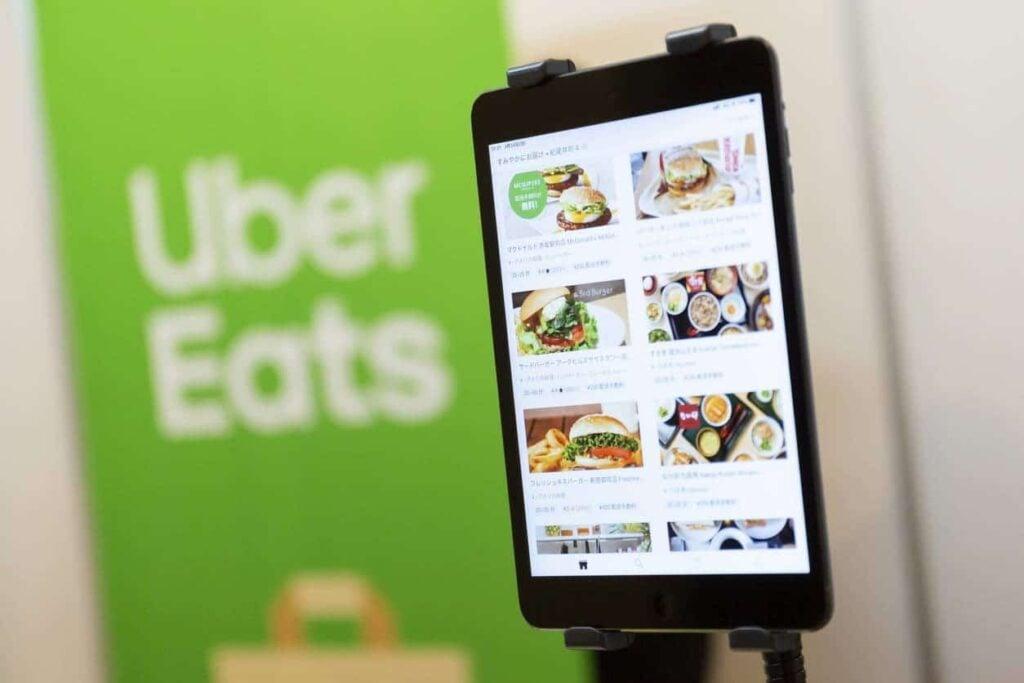 Uber Eat App