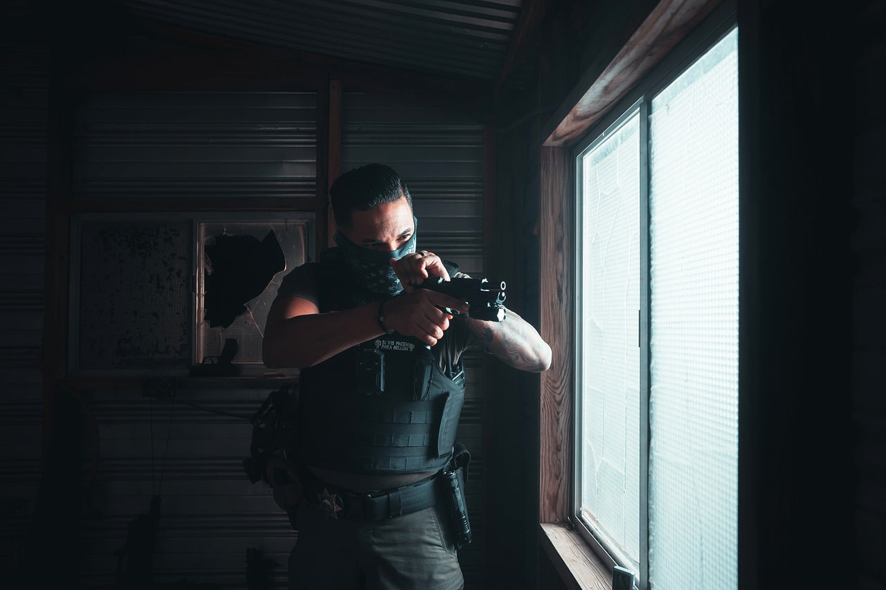body armor and home defense